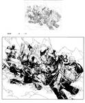New X-men 45 pag 3-4 inks