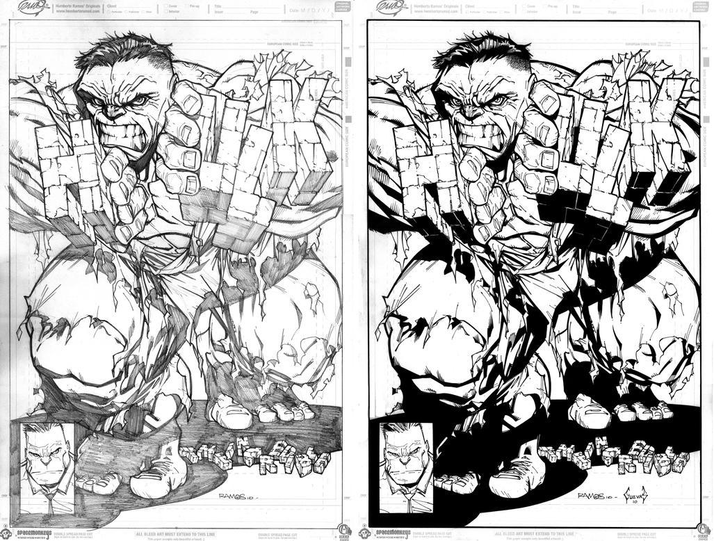 Commission Hulk by Lobo-Cuevas