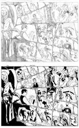 Free Comic Book Day pag 1-2 inks.