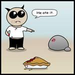 who ate my pie? by Smangii