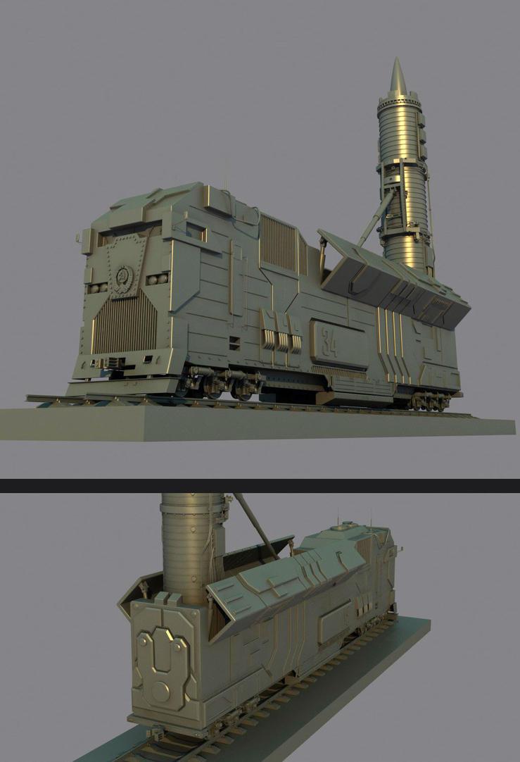SMERCOZZ train by Max-CCCP