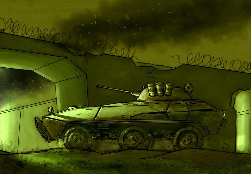 Armored car by Max-CCCP