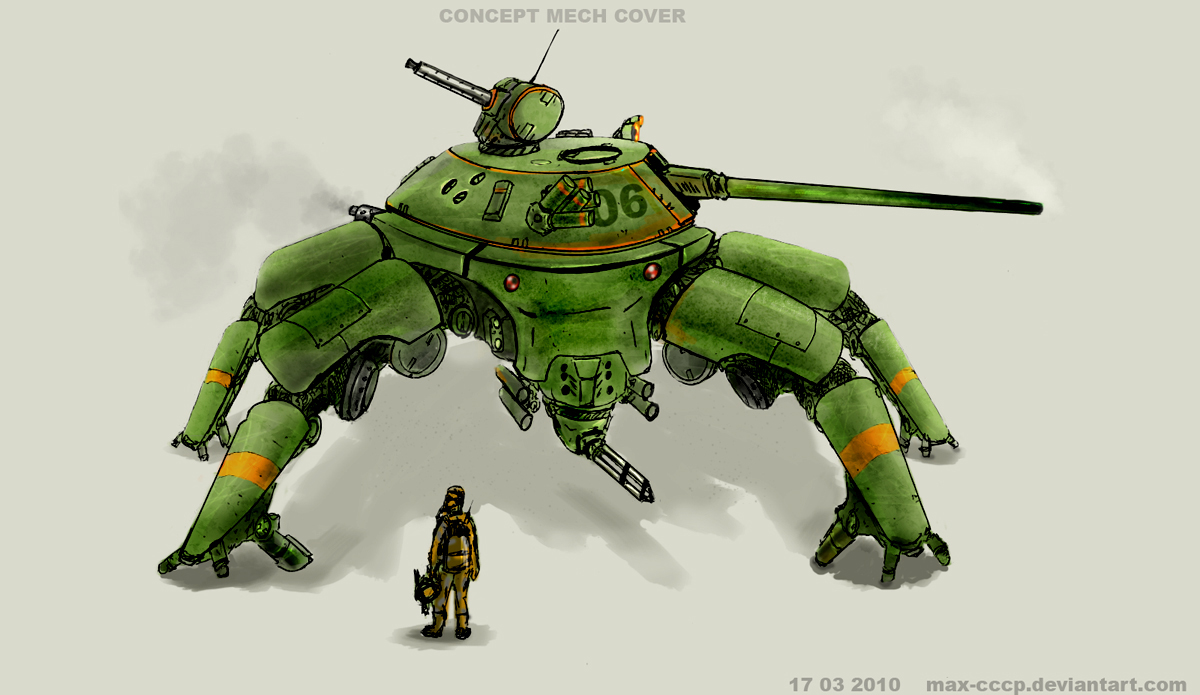 CONCEPT MECH COVER 1200 by Max-CCCP