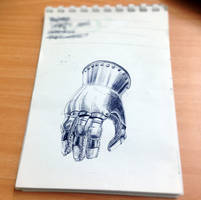 knight's glove by Max-CCCP