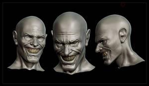 Joker head WIP