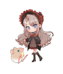 Commission Chibi by cherryn2726