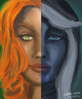 Drow and Windranger Demo by totopc