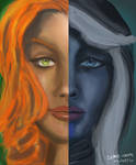 Drow and Windranger Demo