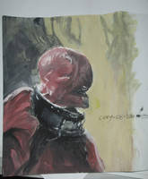 Mindless Null Gouache (MGT Study) by totopc