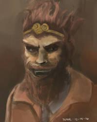 Monkey King (Dota 2) by totopc