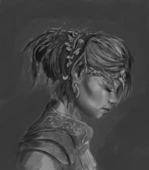 Elf Child Priestess  (Value Comp)