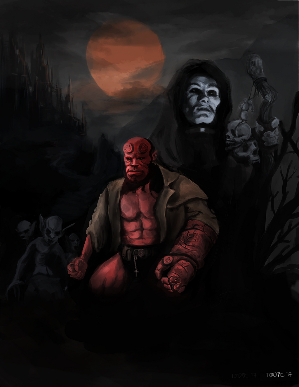 Hellboy by totopc
