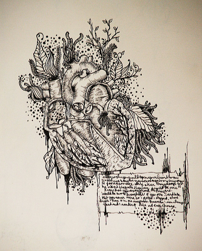 the anatomy of a stolen heart by kindahappysad