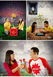 A+D prewedding by dyudo