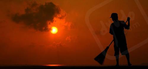 Pagi di Kepulauan Seribu