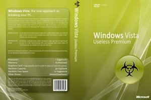 Anti Windows Vista DVD cover by MaraudingMaster