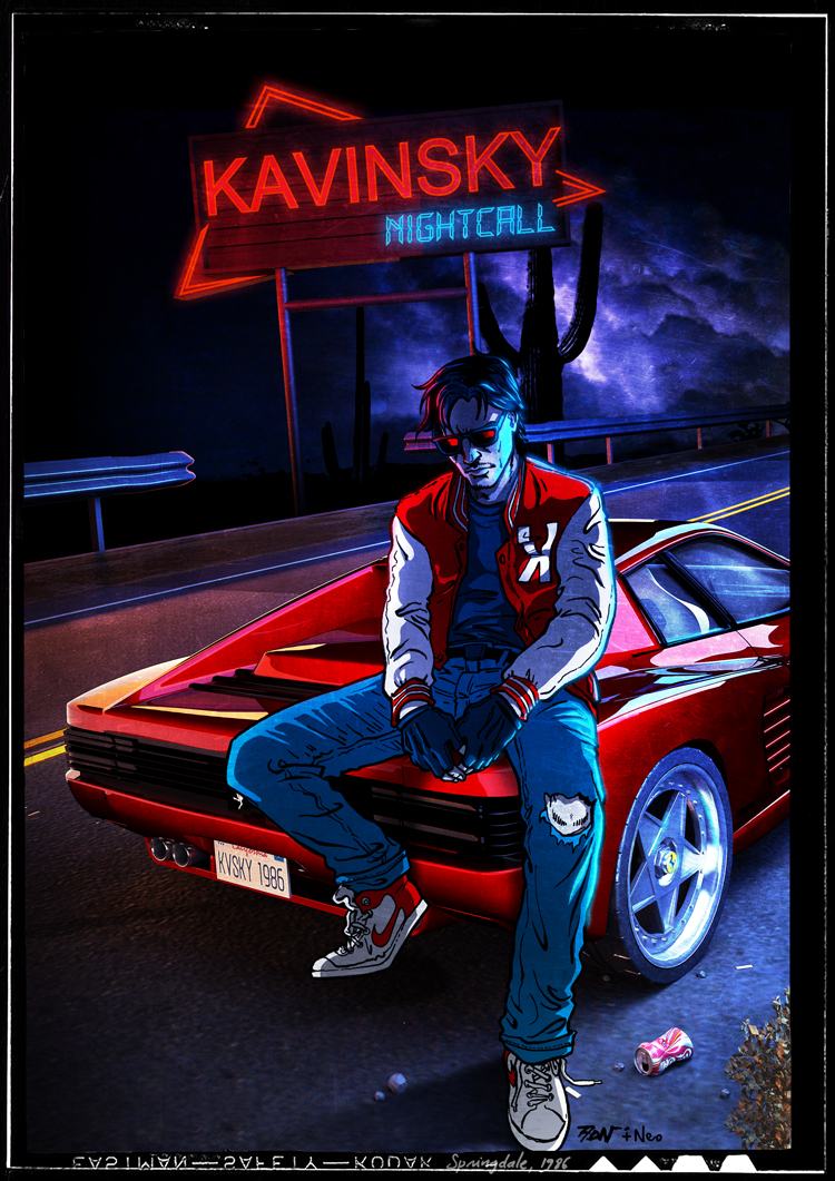 Kavinsky, Springdale 1986 by ADN-z