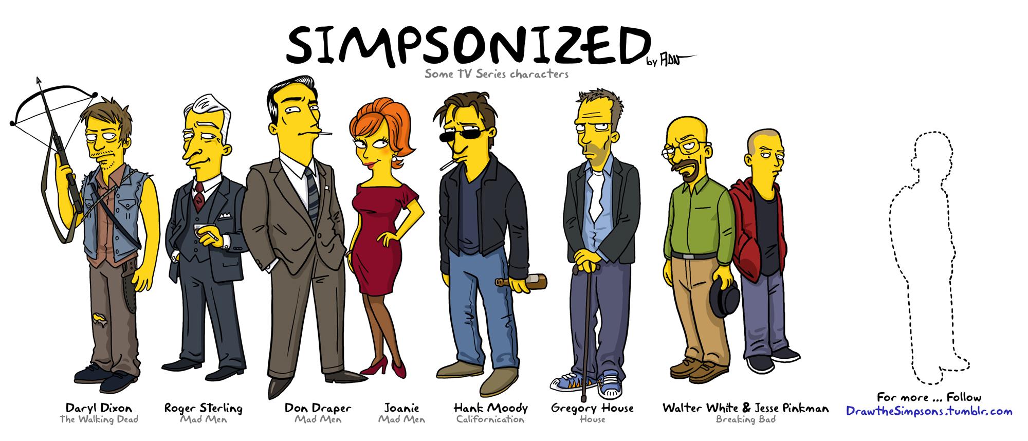 Simpsonized by ADN-z