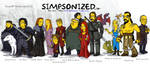 Game Of Thrones Simpsonized by ADN-z