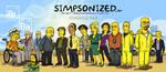 Breaking Bad Simpsonized by ADN-z