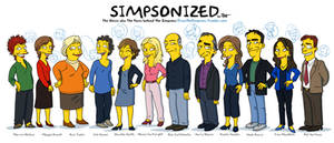 The faces behind The Simpsons