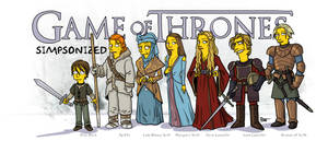 Game Of Thrones Simpsonized (series 2)