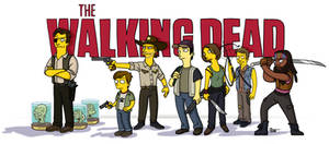 Walking Dead / Simpsonized by ADN-z