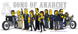 Sons of Anarchy / Simpsonized