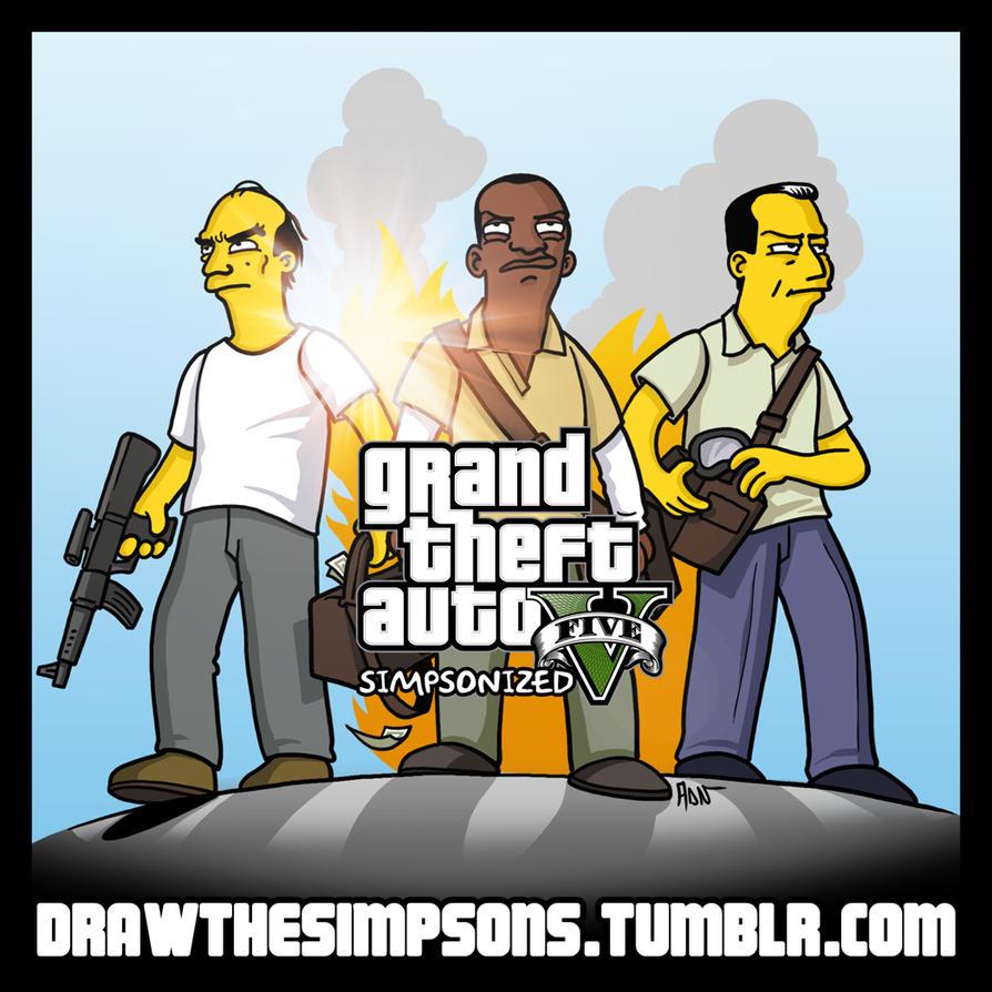 D Simpsons Car Games