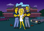 RoadHouse Simpsonized