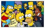 Ellen's Oscars selfie with The Simpsons