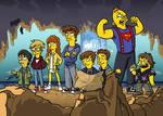 The Goonies Simpsonized