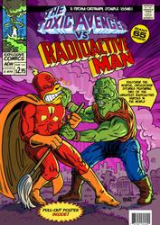 The Toxic Avenger vs Radioactive Man by ADN-z