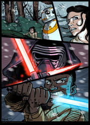 Star Wars - comics page