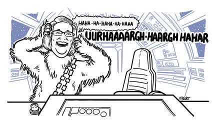 Chewbacca Mom Chewbacca by ADN-z