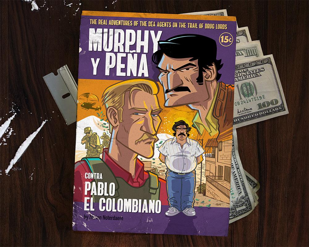 Narcos Murphy y Pena by ADN-z