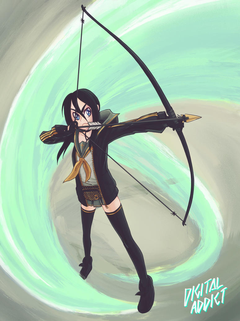 Arrow girl by digital-addict