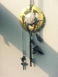 Steampunk Inspired Dreamcatcher