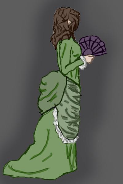 Victorian Dress II by Wishiwasahobbit