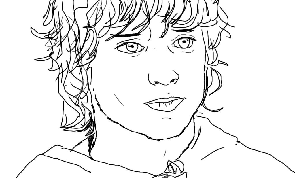 Frodo Baggins by Wishiwasahobbit