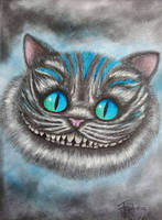 Cheshire cat by RalucaFratea