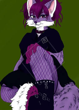 That Goth Fox Over There