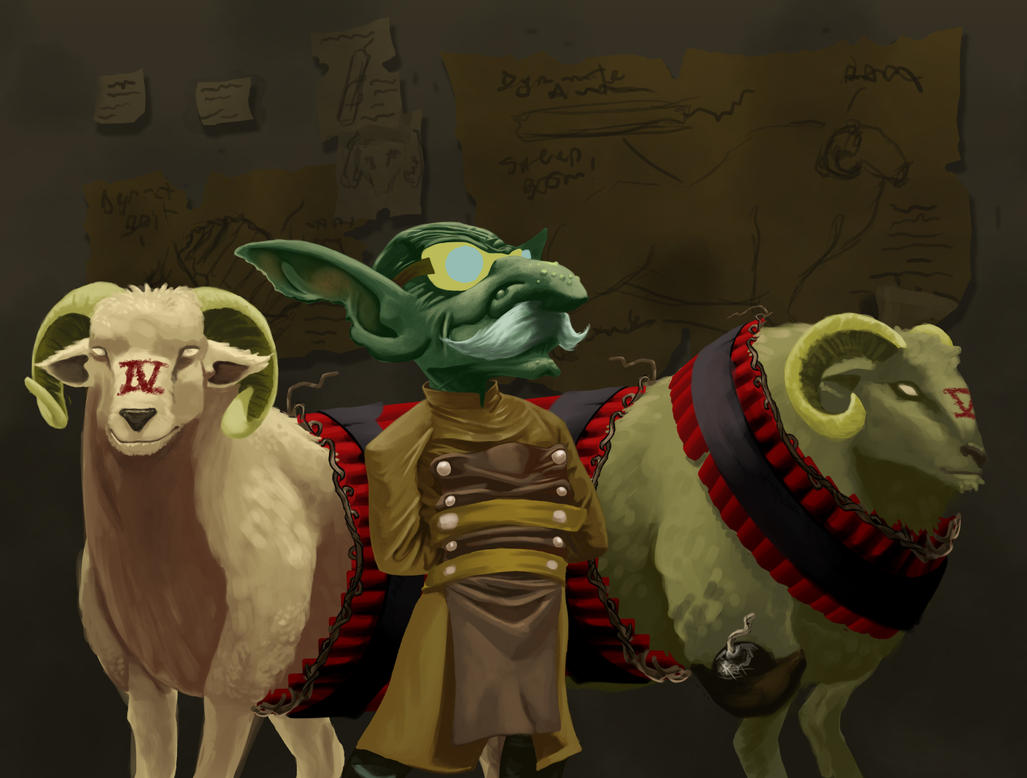 Doctor Syde and the boom sheep by tribul224