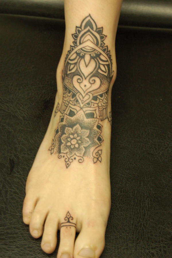 Mehndi Tattoo Real : Henna style by deadlycious on deviantart