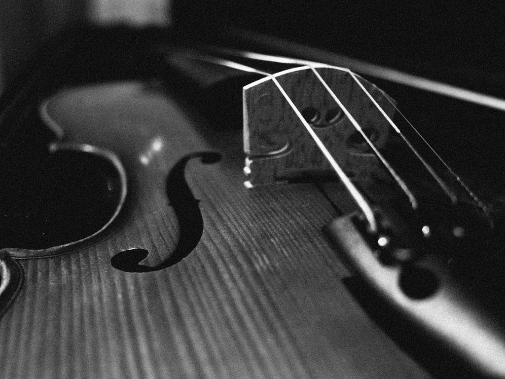 The most beautiful Violin by kuivran
