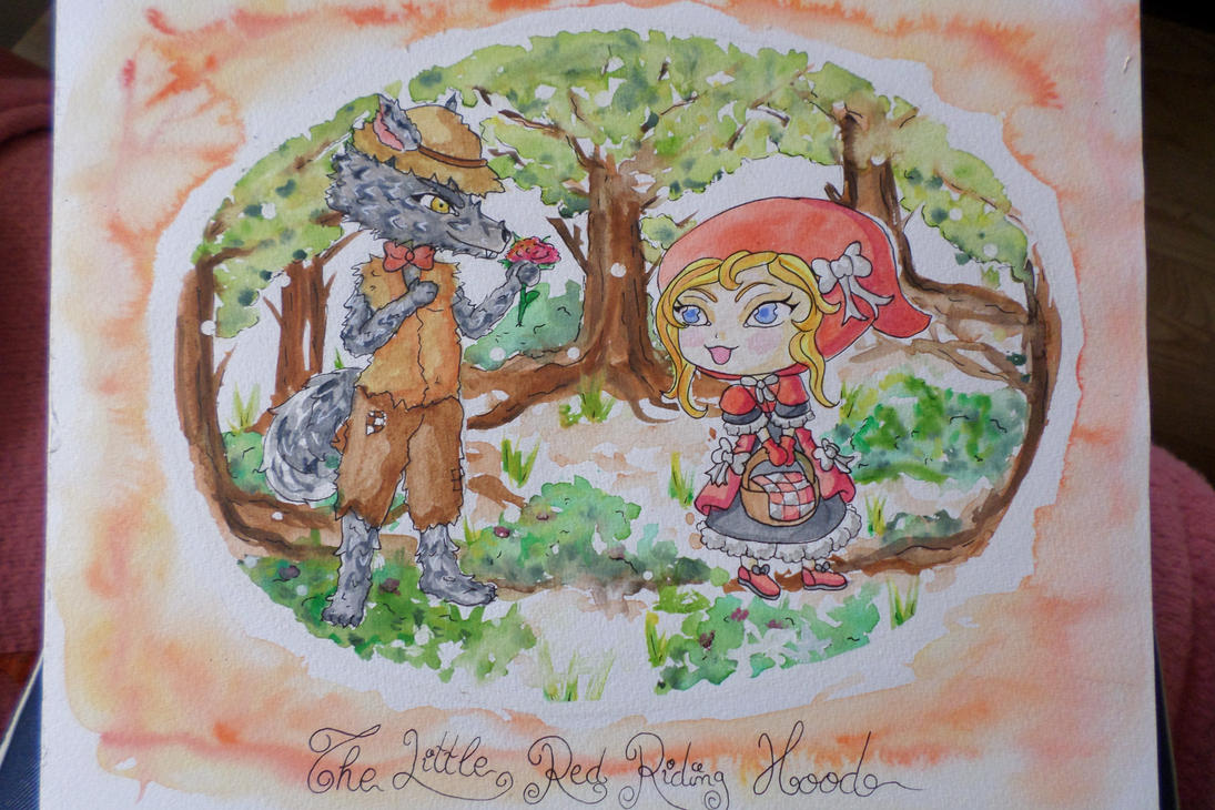 Little Red Riding Hood by Yueyun