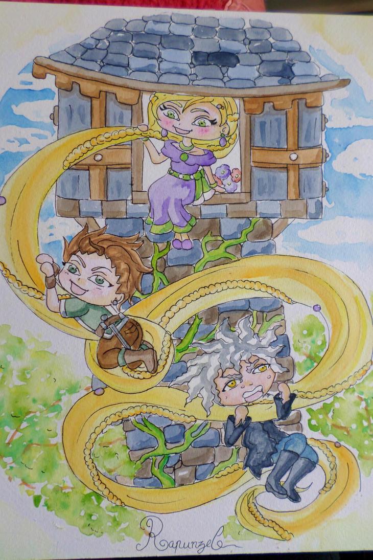 Rapunzel by Yueyun