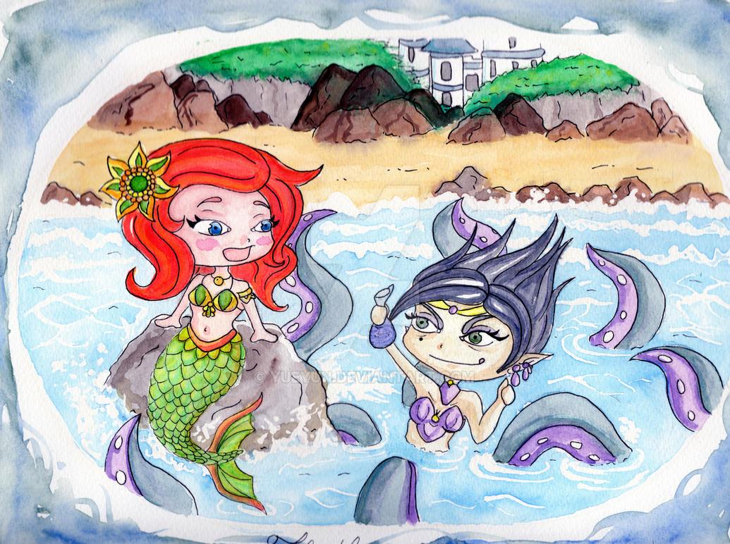 The Little mermaid by Yueyun