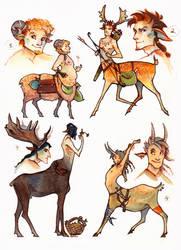 CLOSED adopts - centaurs! by iaVako