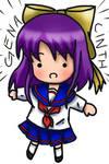 Violet - Chibi by genacinth